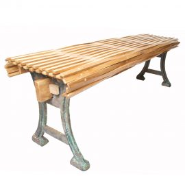 Recycled Oak Bench