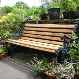 Farmhouse Garden Bench