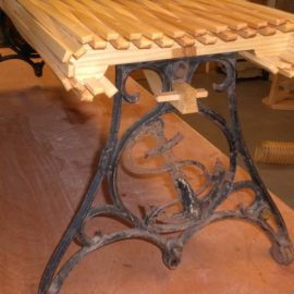 Recycled Ash Bench