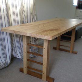 Contemporary Farmhouse Kitchen Table